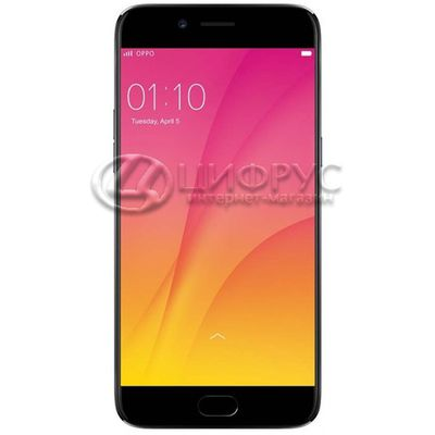 Oppo R9s Plus 64Gb+6Gb Dual LTE Black - Цифрус