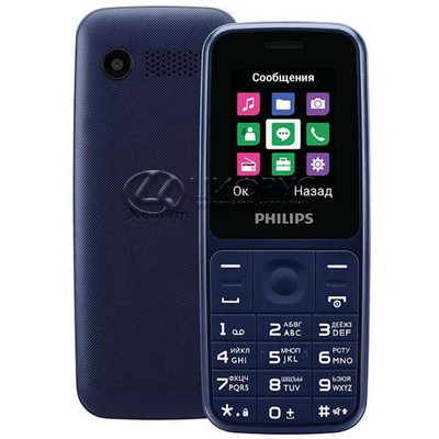 Philips Xenium E125 Blue (РСТ) - Цифрус