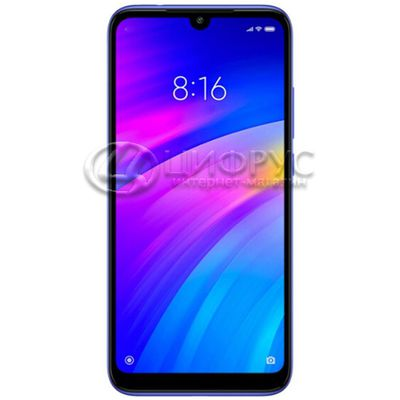 Redmi 7 32Gb+3Gb (Global version) Blue - Цифрус