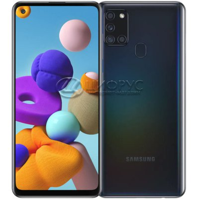 Samsung Galaxy A21S SM-A217F/DS 64Gb Dual LTE Black - Цифрус