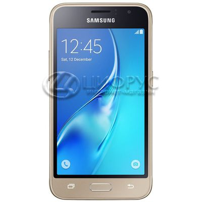 Samsung Galaxy J1 (2016) SM-J120H/DS 8Gb Dual Gold - Цифрус