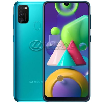 Samsung Galaxy M21 (РСТ) M215F/DS 64Gb Green - Цифрус