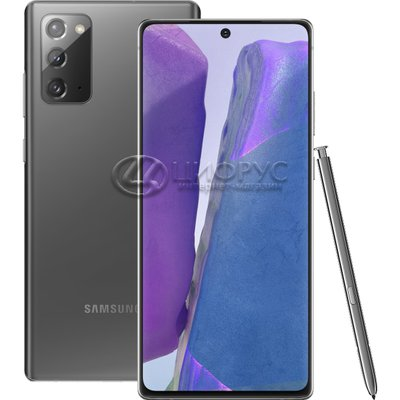 Samsung Galaxy Note 20 (Snapdragon 865+) 256Gb+8Gb 5G Grey - Цифрус