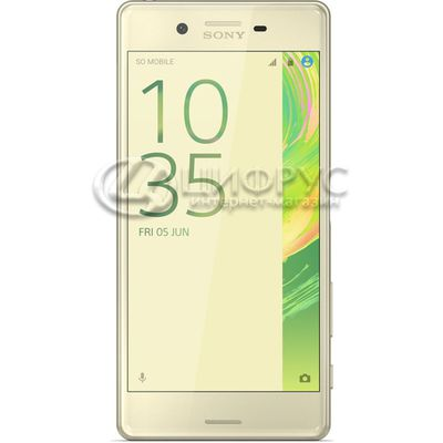 Sony Xperia X Dual (F5122) 64Gb LTE Lime Gold - Цифрус