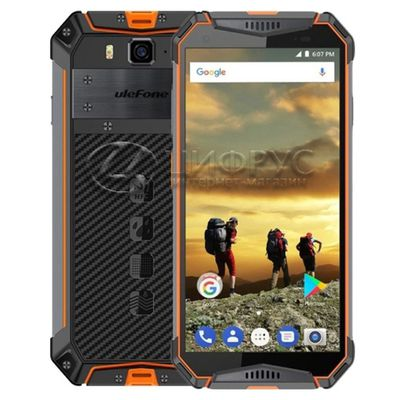 Ulefone Armor 3 32Gb+3Gb Dual LTE Orange - Цифрус