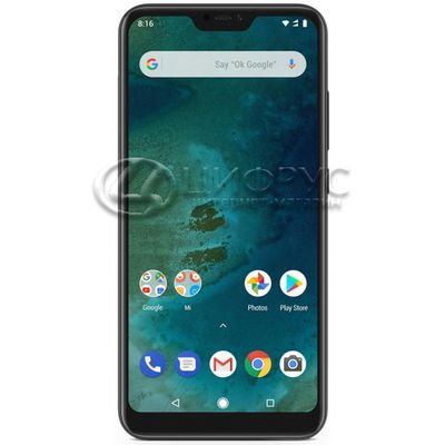 Xiaomi Mi A2 Lite 64Gb+4Gb Dual LTE (Global) Black - Цифрус