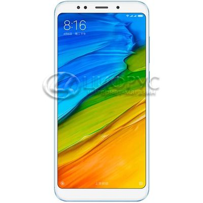 Xiaomi Redmi 5 Plus 64Gb+4Gb Dual LTE Blue - Цифрус