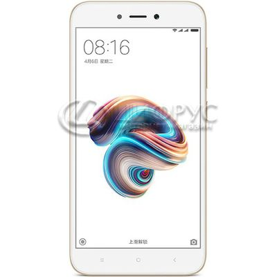 Xiaomi Redmi 5A 16Gb+2Gb (Global) Dual LTE Gold - Цифрус