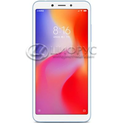 Xiaomi Redmi 6A 32Gb+2Gb (Global) Blue - Цифрус