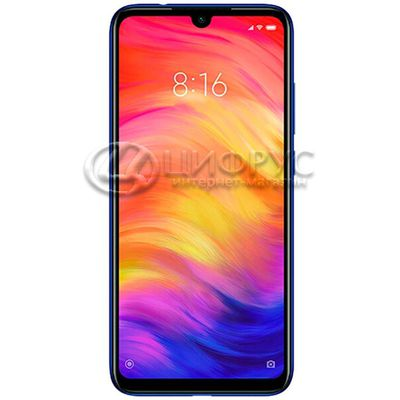 Xiaomi Redmi Note 7 32Gb+3Gb Dual LTE Blue - Цифрус