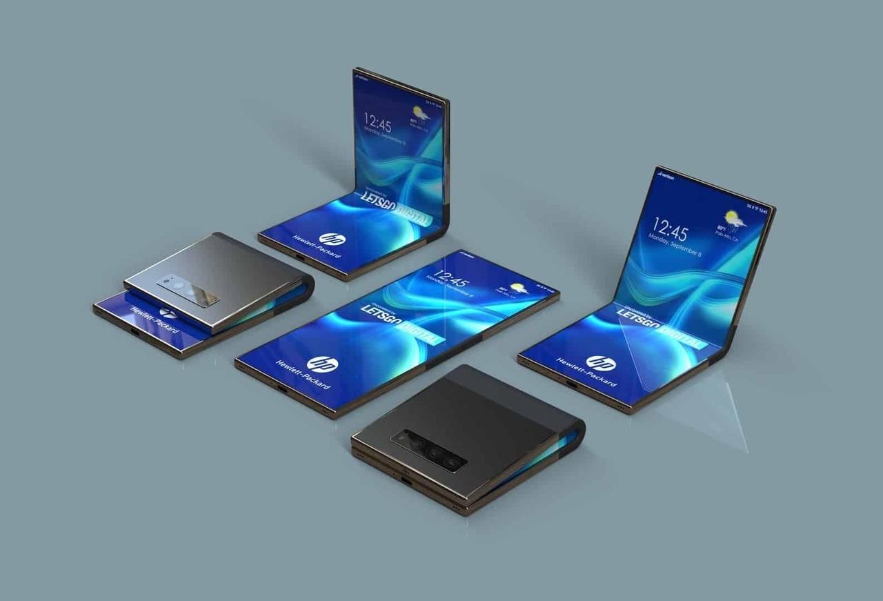 HP запатентовала удивительный складной смартфон!?