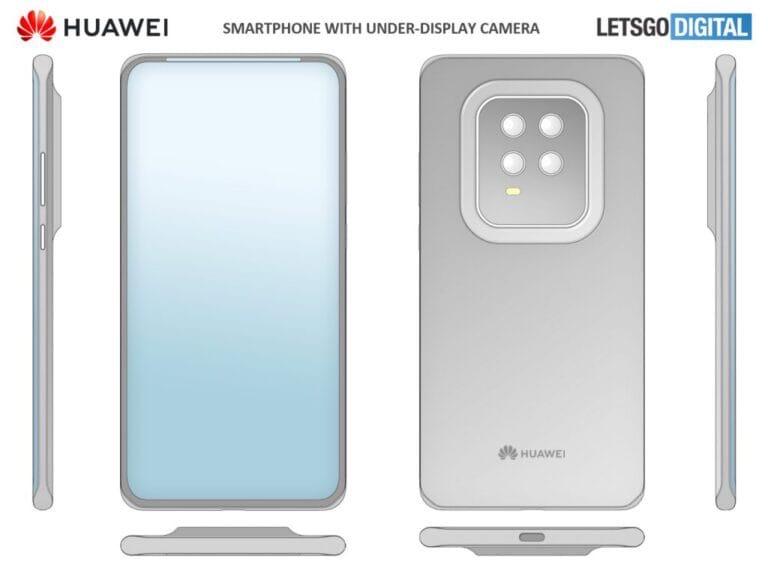Huawei запатентовала уникальный смартфон!