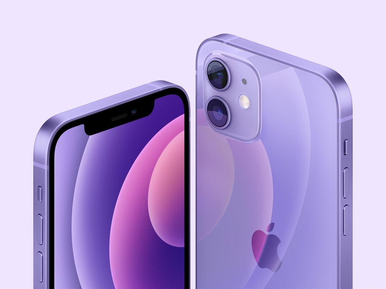iPhone 12 в новом цвете Purple.