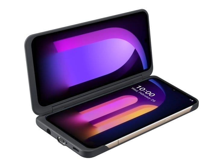 LG выходит на рынок 5G смартфонов.