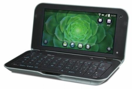 Sharp  IS01 - мобильное интернет-устройство с 5-дюймовым дисплеем