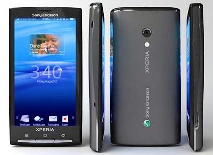 В  России стартуют продажи телефона Sony Ericsson XPERIA X10