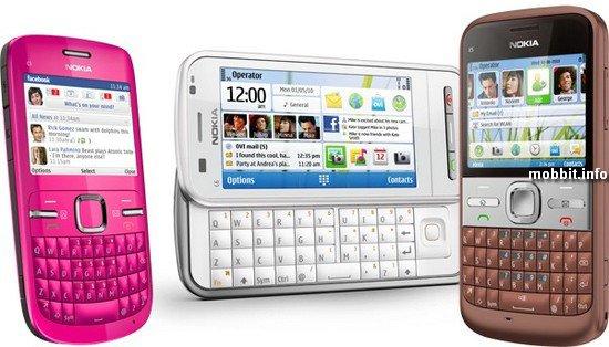 Nokia C3, C6  � E5