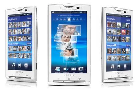 Sony  Ericsson XPERIA X10 получит поддержку «мультитач»