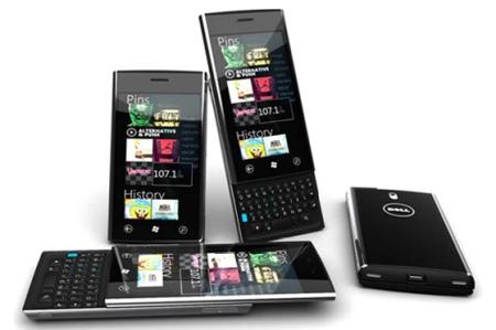 Dell  Lightning - коммуникатор на базе Windows Phone 7