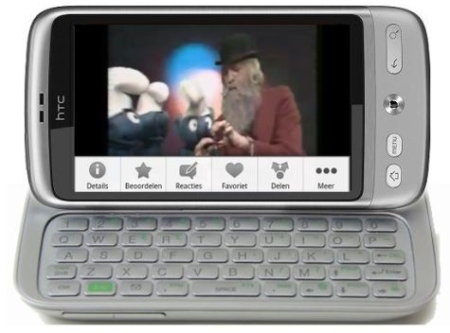 HTC  ������� QWERTY-