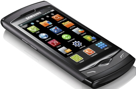 Samsung S8500 Wave - первый телефон на базе платформы bada