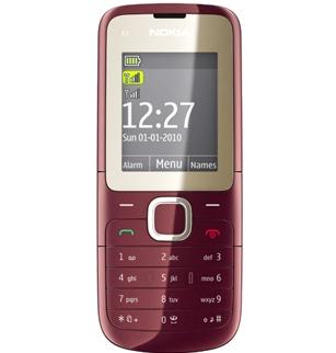 Nokia  C2 - телефон с поддержкой двух сим-карт