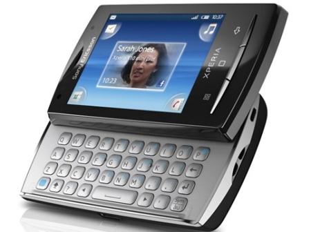 Sony  Ericsson XPERIA X10 Mini pro приехал в Россию