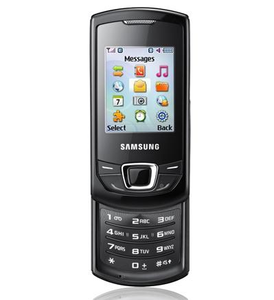 Samsung E2550 поступил в продажу в России
