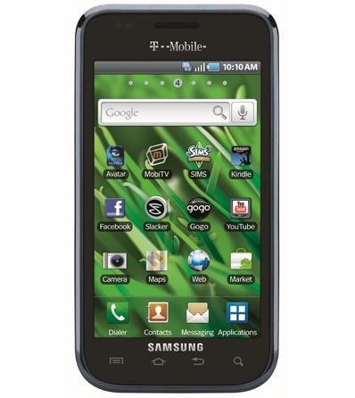 Samsung Vibrant и Fascinate - новые смартфоны из серии Galaxy S