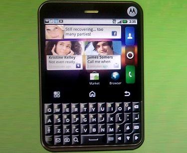 """Motorola выпустит молодёжный """"гуглофон"""" Charm"""