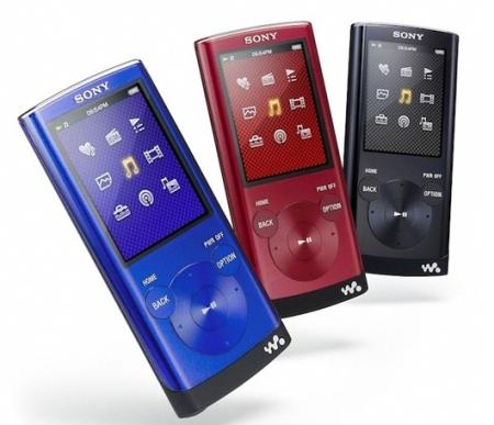 Sony Walkman NWZ-E350 - пара новых мультимедийных плееров
