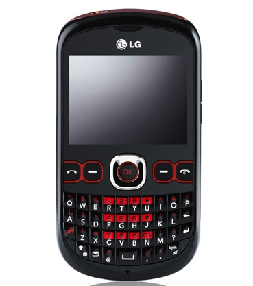 LG Town C300 - телефон с QWERTY-клавиатурой