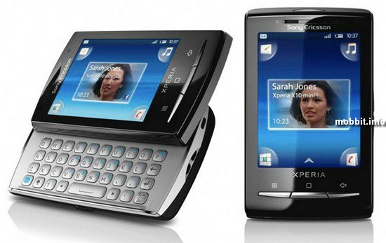 Sony  Ericsson Xperia X10 mini и pro