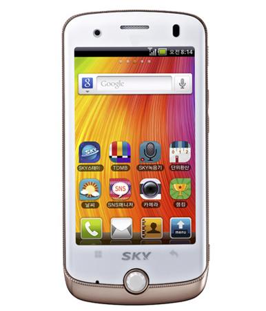 Pantech IM-A690 Mirach - недорогой смартфон на базе Android 2.2
