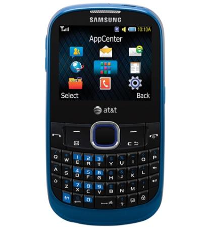 Samsung SGH-A187 - бюджетный телефон с QWERTY-клавиатурой
