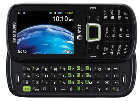 Samsung Evergreen - экологичный телефон с выдвижной клавиатурой