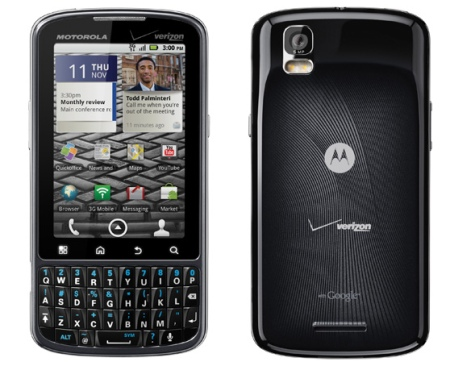 Сегодня стартуют продажи смартфона Motorola Droid Pro
