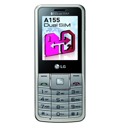 LG представила в России телефон A155