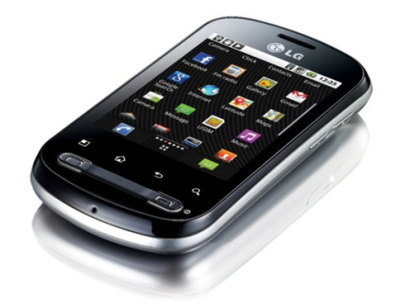 "LG Optimus Me P350 - ""гуглофон"" среднего класса"