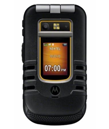 Motorola Brute i686 - водонепроницаемый iDEN-телефон