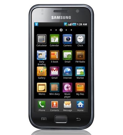 Смартфон Samsung I9003 Galaxy S оснастят TFT-экраном