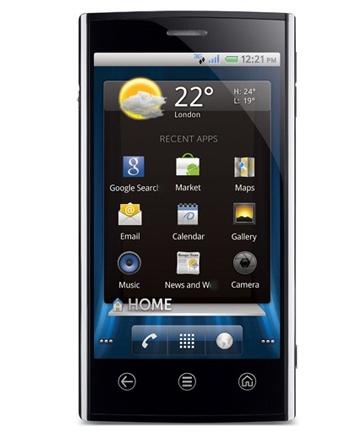Dell Venue - смартфон с 4,1-дюймовым AMOLED-дисплеем