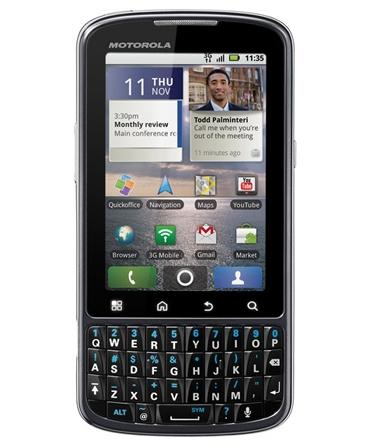 «Глобальный» смартфон Motorola Pro добрался до Европы