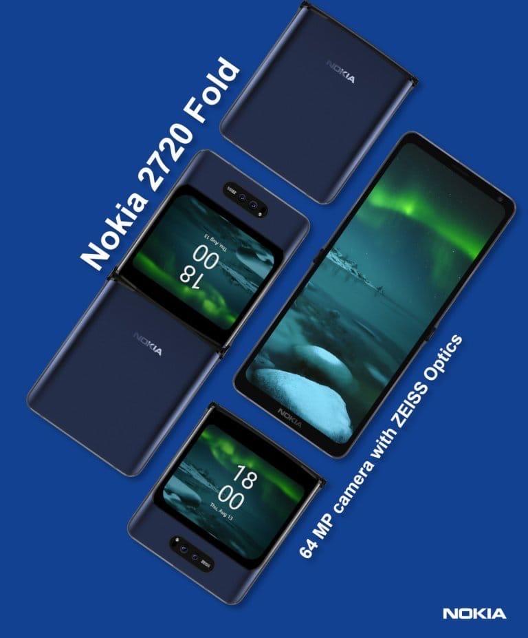 Nokia до сих пор работает над складным смартфоном.