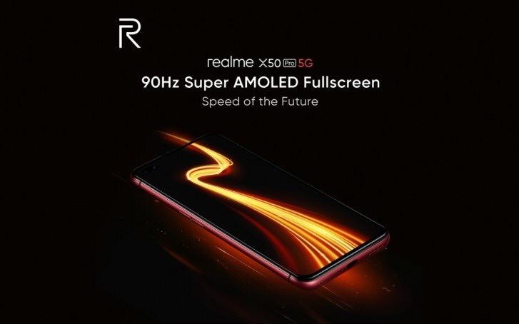 Новая информация о Realme X50 Pro.