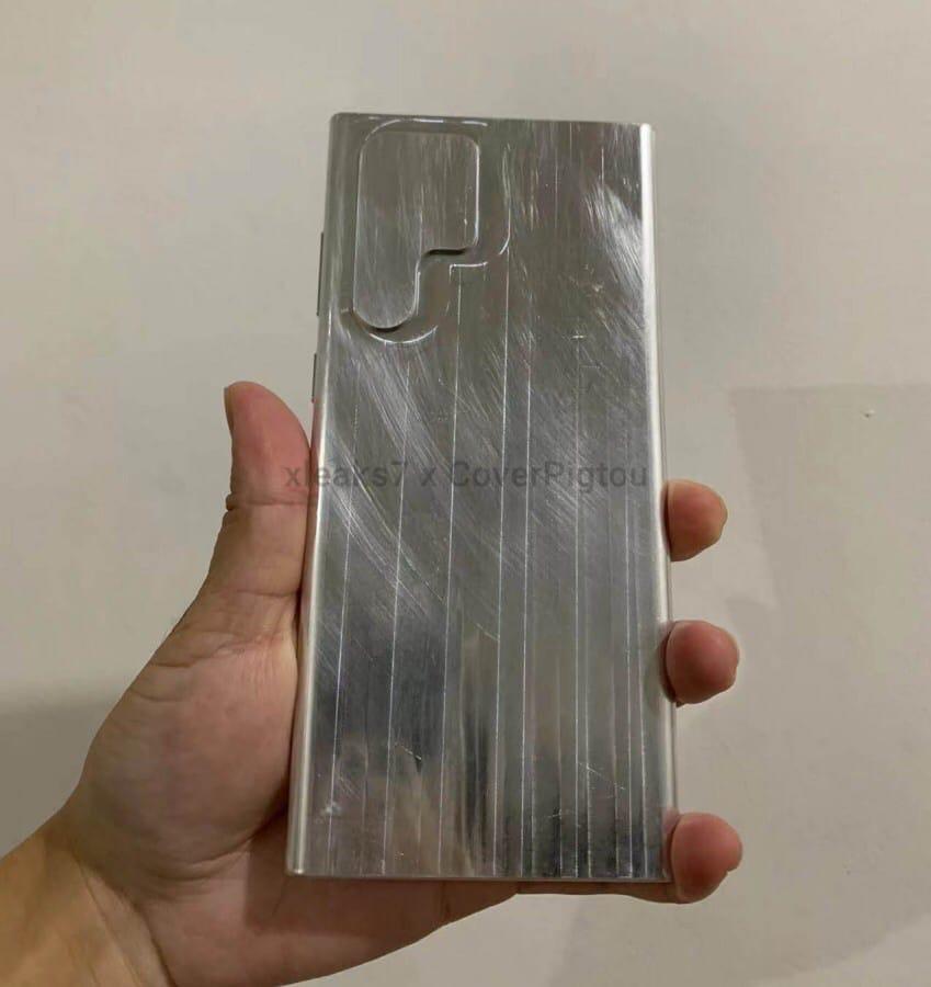 Первый взгляд на Samsung Galaxy S22 Ultra!