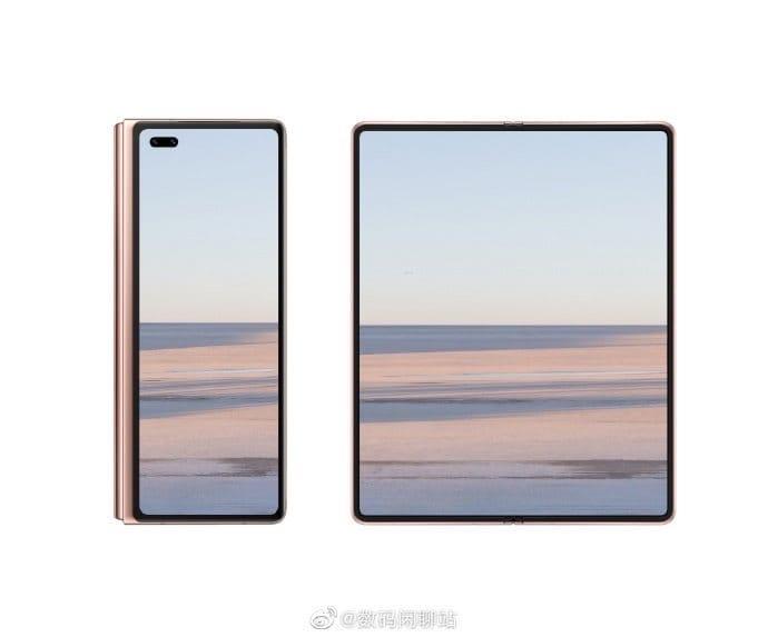 Раскрыт дизайн Huawei Mate X2.??