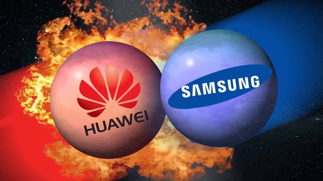 Samsung воспользовалась положением Huawei.