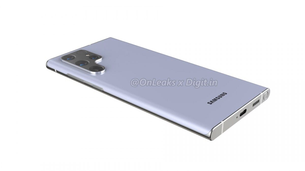 В сети появились первые эксклюзивные рендеры Samsung Galaxy S22 Ultra!